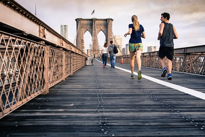 Even with all the walking New Yorkers do, they don't make the 15 fittest cities.