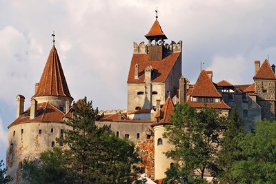 The castle of Vlad the Impaler is a real life destination for monster hunters.